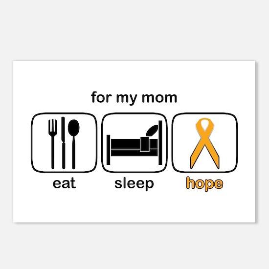 Mom ESHope Leukemia Postcards (Package of 8)