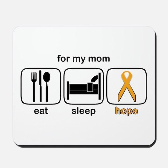 Mom ESHope Leukemia Mousepad