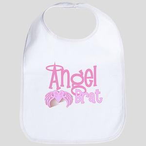Angel Brat Bib