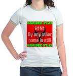 Swine Flu H1N1 Jr. Ringer T-Shirt
