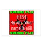 Swine Flu H1N1 Postcards (Package of 8)