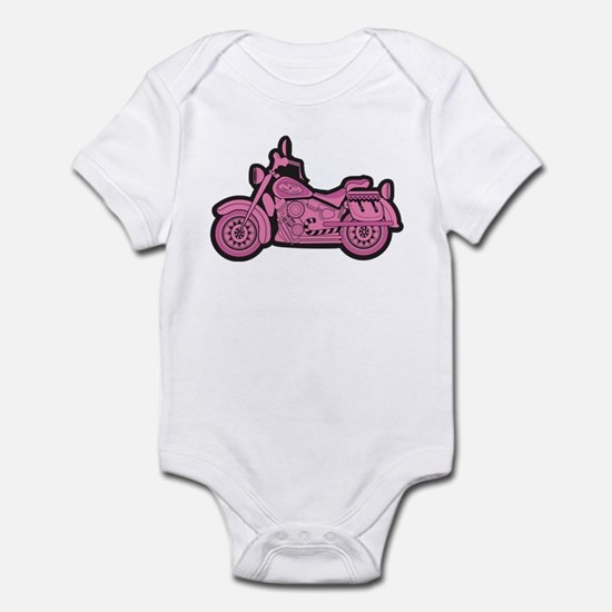 My First Pink Bike Infant Bodysuit