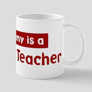 Mom is a Darwism Teacher Mug