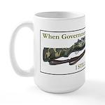 I STILL get to vote Large Mug