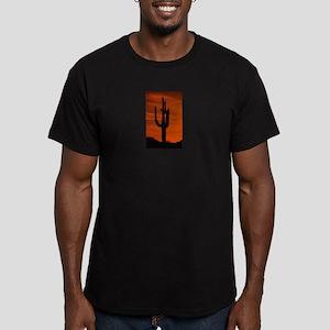 CACTUS_0911 Men's Fitted T-Shirt (dark)