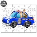 Foot Patrol Car Puzzle