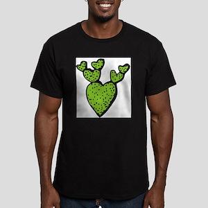 CACTUS_0915 Men's Fitted T-Shirt (dark)