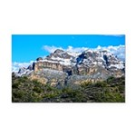 Snow On Picketpost Mountain Rectangle Car Magnet