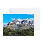 Snow On Picketpost Mountain Greeting Cards