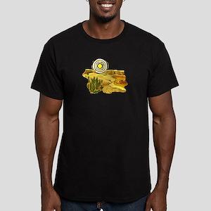 CACTUS_0920 Men's Fitted T-Shirt (dark)