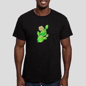 CACTUS_0921 Men's Fitted T-Shirt (dark)