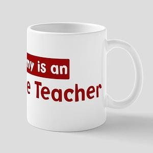 Mom is a Agriculture Teacher Mug