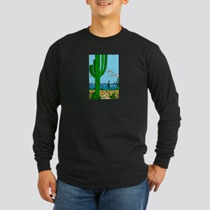 CACTUS_0925 Long Sleeve Dark T-Shirt