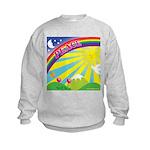 Peace Rainbow - Kids Sweatshirt