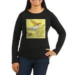 Peacegirl - Women's Long Sleeve Dark T-Shirt
