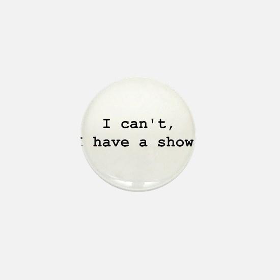 Cute Theatre geek Mini Button