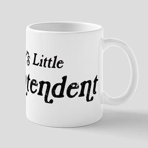 Mommys Little Superintendent Mug