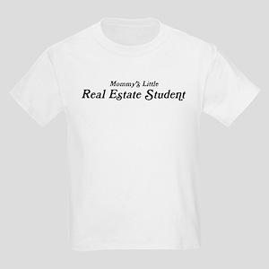 Mommys Little Real Estate Stu Kids Light T-Shirt