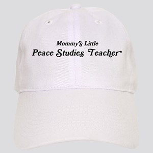 Mommys Little Peace Studies T Cap