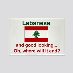 Good Looking Lebanese Magnet (3x2)