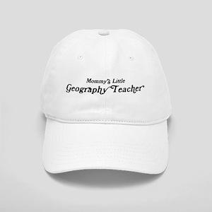 Mommys Little Geography Teach Cap