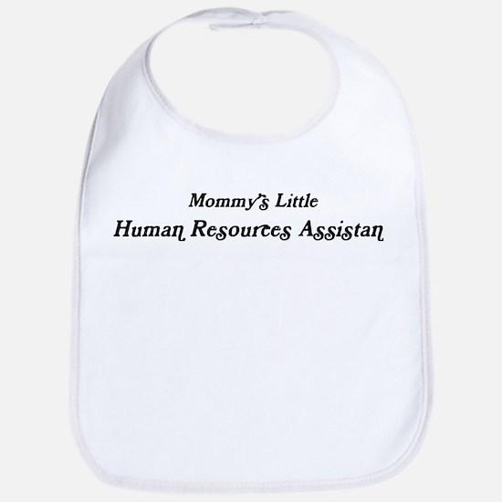 Mommys Little Human Resources Bib