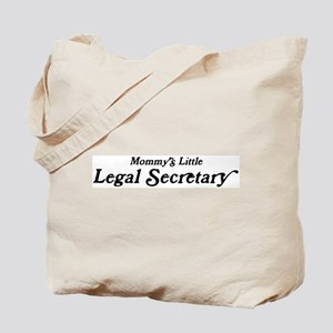 Mommys Little Legal Secretary Tote Bag