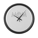 Power Mom Large Wall Clock