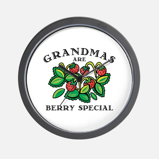 Berry Special Grandma Wall Clock