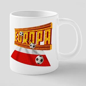 Europa Poland 20 oz Ceramic Mega Mug