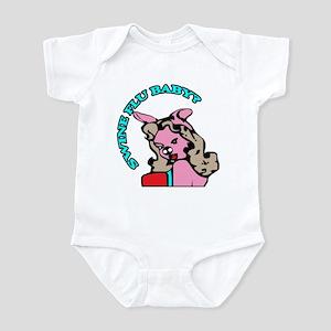 Pop Art Swine Flu Infant Bodysuit