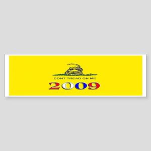 Gadsden Flag 2009 Bumper Sticker