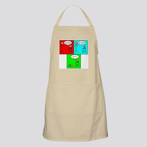 Swine Flu Funnies BBQ Apron