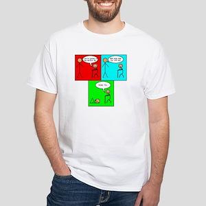 Swine Flu Funnies White T-Shirt
