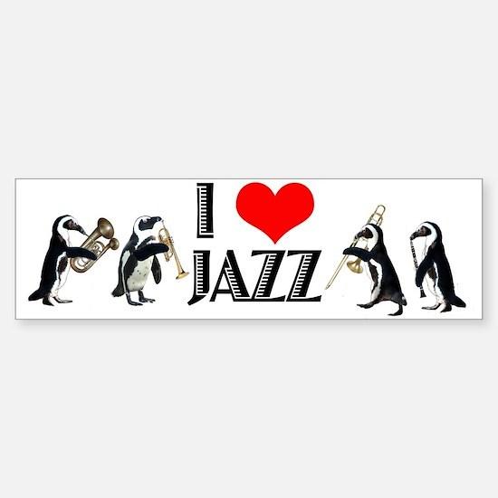 Jazz Bumper Bumper Bumper Sticker