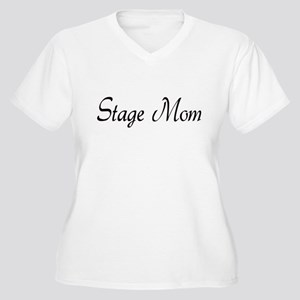 Stage Mom Women's Plus Size V-Neck T-Shirt