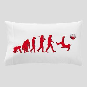 Evolution of Polish Football Pillow Case