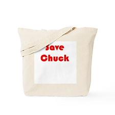 Save Chuck Tote Bag