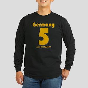 Team Germany - #5 Long Sleeve Dark T-Shirt
