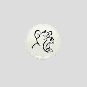 Scream Bear Mini Button