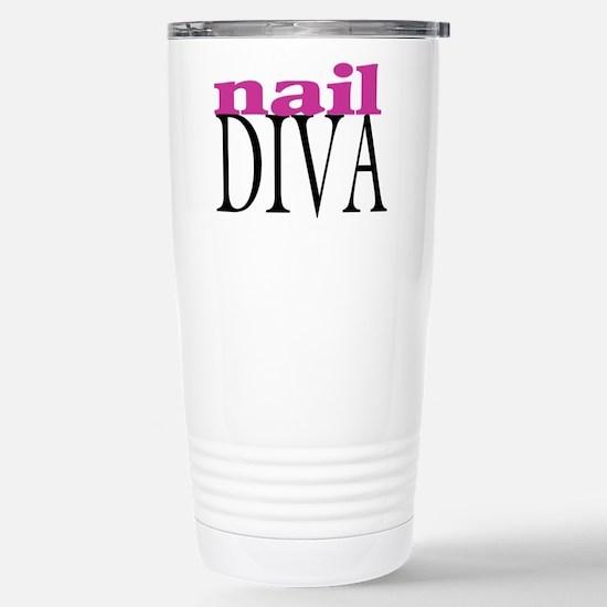 Nail Diva Stainless Steel Travel Mug