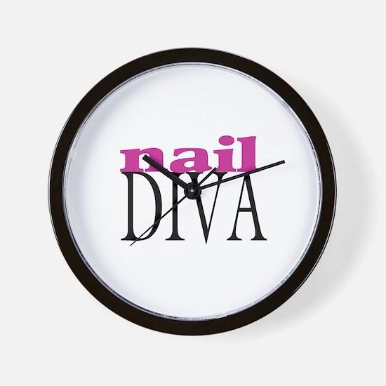 Nail Diva Wall Clock