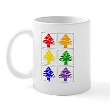 Rainbow Cedar Tree Mug