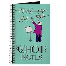 Choir Notes Music Journal