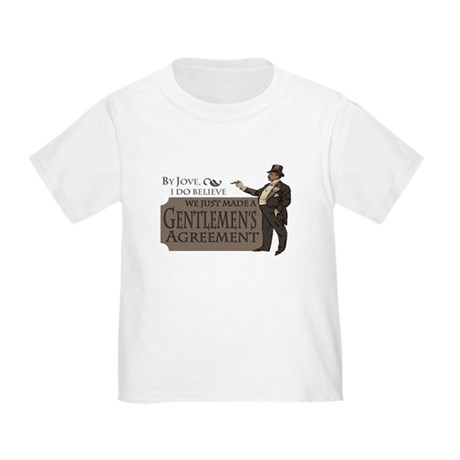 Gentlemen's Agreement Toddler T-Shirt
