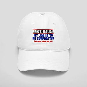 Team Mom My Job Cap
