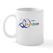 Ray 'n Bow Logo (Rainbow) Mug