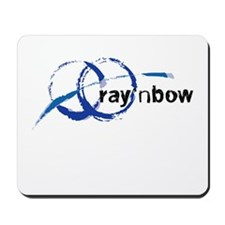 Ray 'n Bow Logo (Black) Mousepad