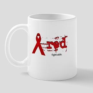 Red Ribbon | Fight AIDS Mug