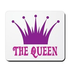 The Queen: Crown Mousepad